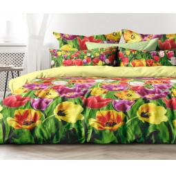 КПБ бязь «Любимый дом» рис. 6505-1/11916-85 Цветы Голландии